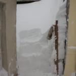 Ușa de mai devreme văzută de afară