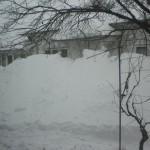 O zăpadă cel puțin la fel de grea ca acum 2 ani